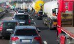 Tamponamento in A4, traffico in tilt in direzione Milano