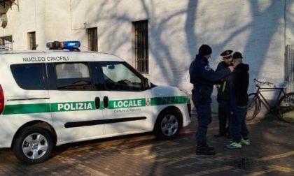 Abbiategrasso, blitz della Polizia locale alla stazione