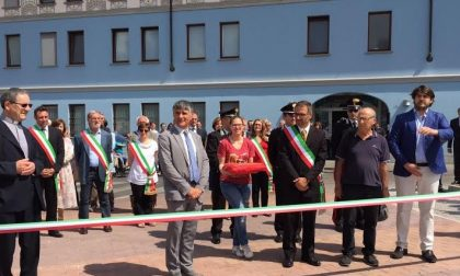 Arconate, taglio del nastro per la nuova piazza Falcone e Borsellino