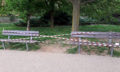 Arese, Atti vandalici all'area cani di viale dei Platani