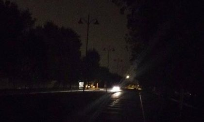 Arese, Black-out  all'alba in zona Arese sud