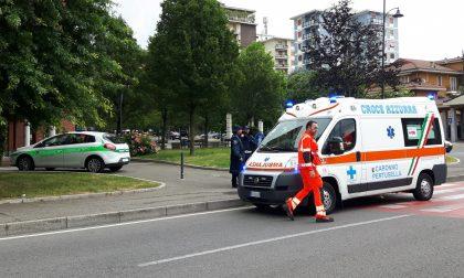 Arese, Incidente in bici: 80enne a terra