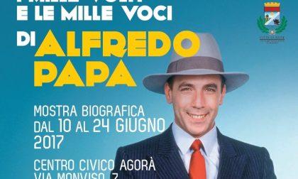 Arese, Una mostra biografica per ricordare Alfredo Papa  il noto imitatore tv aresino