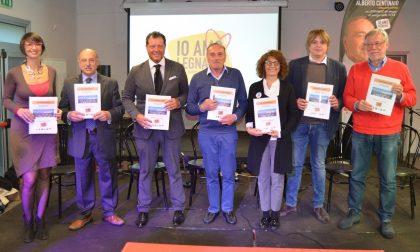 Beppe Sala a Legnano per sostenere la candidatura di Centinaio