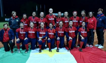 Bollate, L'under 21 campione d'Italia di Softball