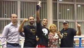 Bollate, un bollatese campione regionale di boxe