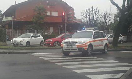 Brutto incidente a San Vittore Olona
