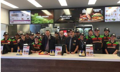 """Cerro Maggiore, ha aperto il nuovo """"Burger King"""" di via Turati"""