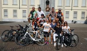 Cornaredo, in bici dalla Val Brembana per ricordare Luca Cavallo