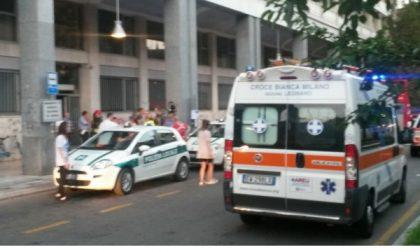 Fiamme in largo Tosi a Legnano: evacuato un intero palazzo
