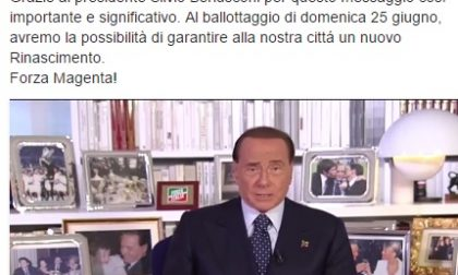"""Forza Chiara"", ecco l'appello video di Berlusconi"