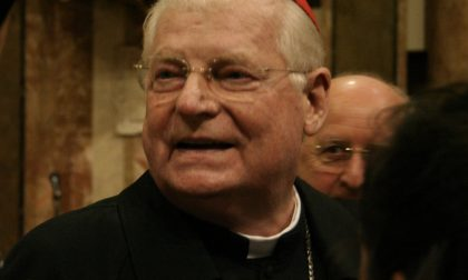 """Il cardinale Scola benedice Parabiago e parla anche di migranti: """"Una delle prove che la Provvidenza ha messo sulla strada di noi europei"""""""