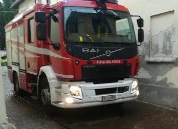 Incendio nel box, paura per il corbettese  Bobo Mainini