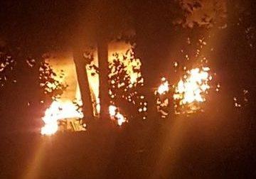 Incendio nella notte alla Galli di Senago