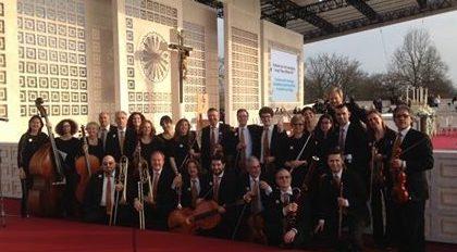L'orchestra  Rusconi ha suonato per il Papa