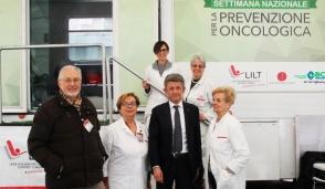 La prevenzione oncologica fa tappa a Busto Garolfo