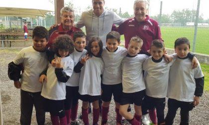 Lainate, Jeison Murillo si allena con i ragazzi della Polisportiva