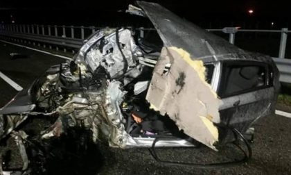 Lainate, spaventoso incidente sull'A8: si salva per miracolo