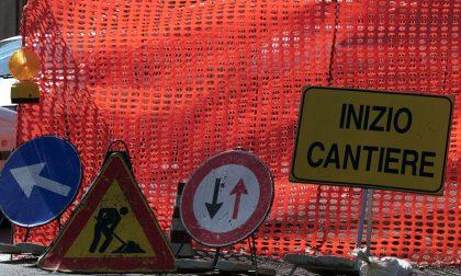 Lavori a Legnano per la rotatoria di viale Sabotino