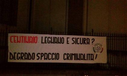 """Legnano, CasaPound: """"Degrado, spaccio e criminalità: la sicurezza è un miraggio"""""""