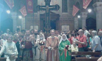 Legnano, Consegnata la Croce del Palio alla contrada Legnarello