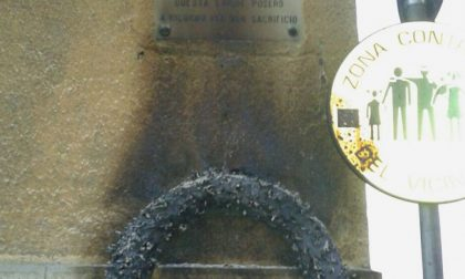 Legnano, vandalizzata la targa dell'antifascista Giovanni Novara