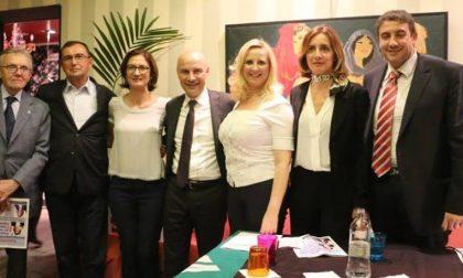 Mariastella Gelmini a Magenta per Chiara Calati