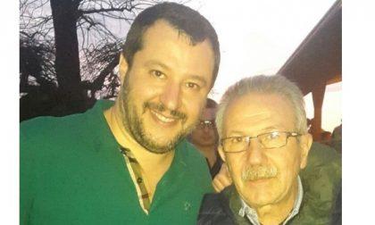 Matteo Salvini a Legnano per sostenere Fratus