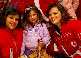 Parabiago, Babbo Natale arriva con la Croce Rossa