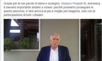 """Pisapia risponde a Silvio: """"Votate Invernizzi"""""""