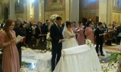 Darmian si sposa nella sua Rescaldina, tutto il paese si ferma per lui