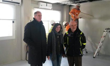 Rho - I container del campo base di Expo diventano una scuola per i terremotati