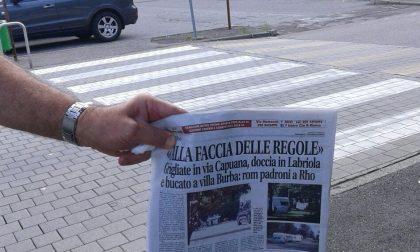 "Rho, ""Il Comune ci prende in giro. Rom ancora in via Capuana"""