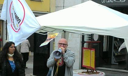 Rho, il sindaco di Livorno Filippo Nogarin a Rho con i grillini