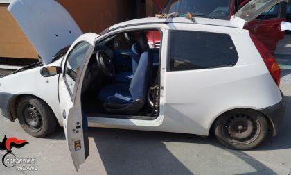 S.Giorgio su Legnano, rocambolesco inseguimento in paese: fermata un'auto con 400 chili di rame
