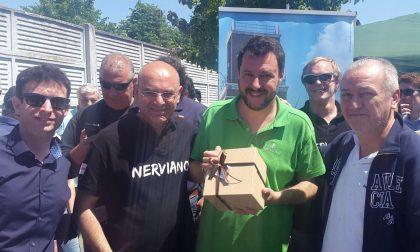 Salvini torna a Nerviano, alle 18 è atteso a Villanova