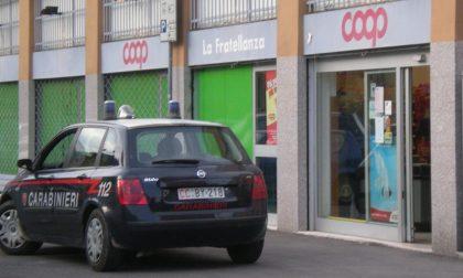 San Giorgio su Legnano: rapinano la Coop col coltello, via con 500 euro