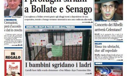 Settegiorni Bollate è in edicola, le notizie in primo piano