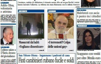 Settegiorni Legnano Altomilanese è in edicola, ecco le notizie in primo piano
