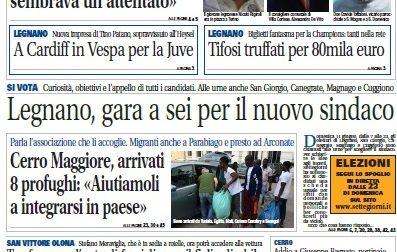 Settegiorni Legnano Altomilanese è in edicola: ecco le notizie in primo piano