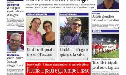 Settegiorni Legnano-Altomilanese è in edicola, ecco le notizie in primo piano