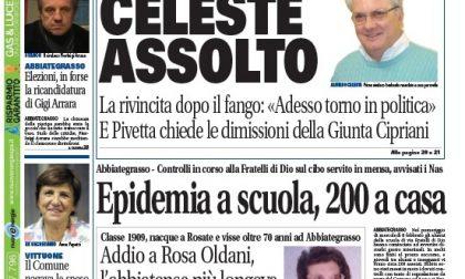 Settegiorni Magenta-Abbiategrasso è in edicola, due pagine sul caso Celeste