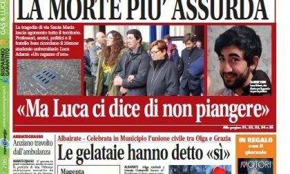 Settegiorni Magenta è in edicola: 5 pagine speciali per ricordare Luca