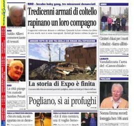 Settegiorni è in edicola, le notizie in primo piano