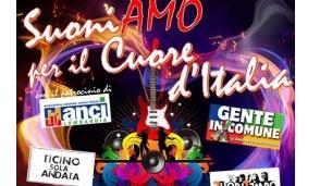 """""""Suoniamo per il cuore d'Italia"""": un concerto che unisce l'Altomilanese"""