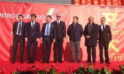 """Taglio del nastro per il """"China mercato"""" più grande d'Europa ad Agrate"""
