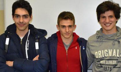 Tre studenti del Bernocchi vincono il torneo... degli imprenditori