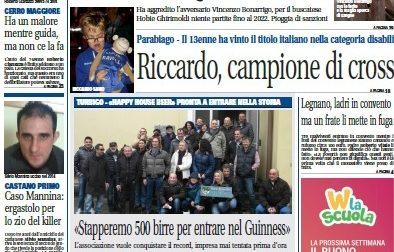 Settegiorni Legnano Altomilanese è in edicola, ecco le notizie in primo piano: