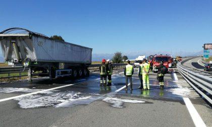 Camionista evita un disastro sulla A4