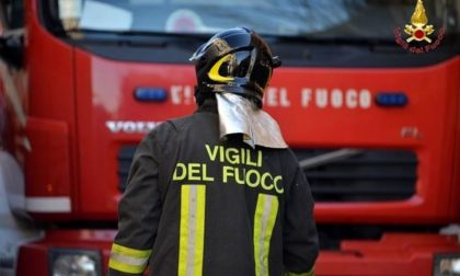 Cadono calcinacci dal ponte di via San Michele del Carso a Legnano